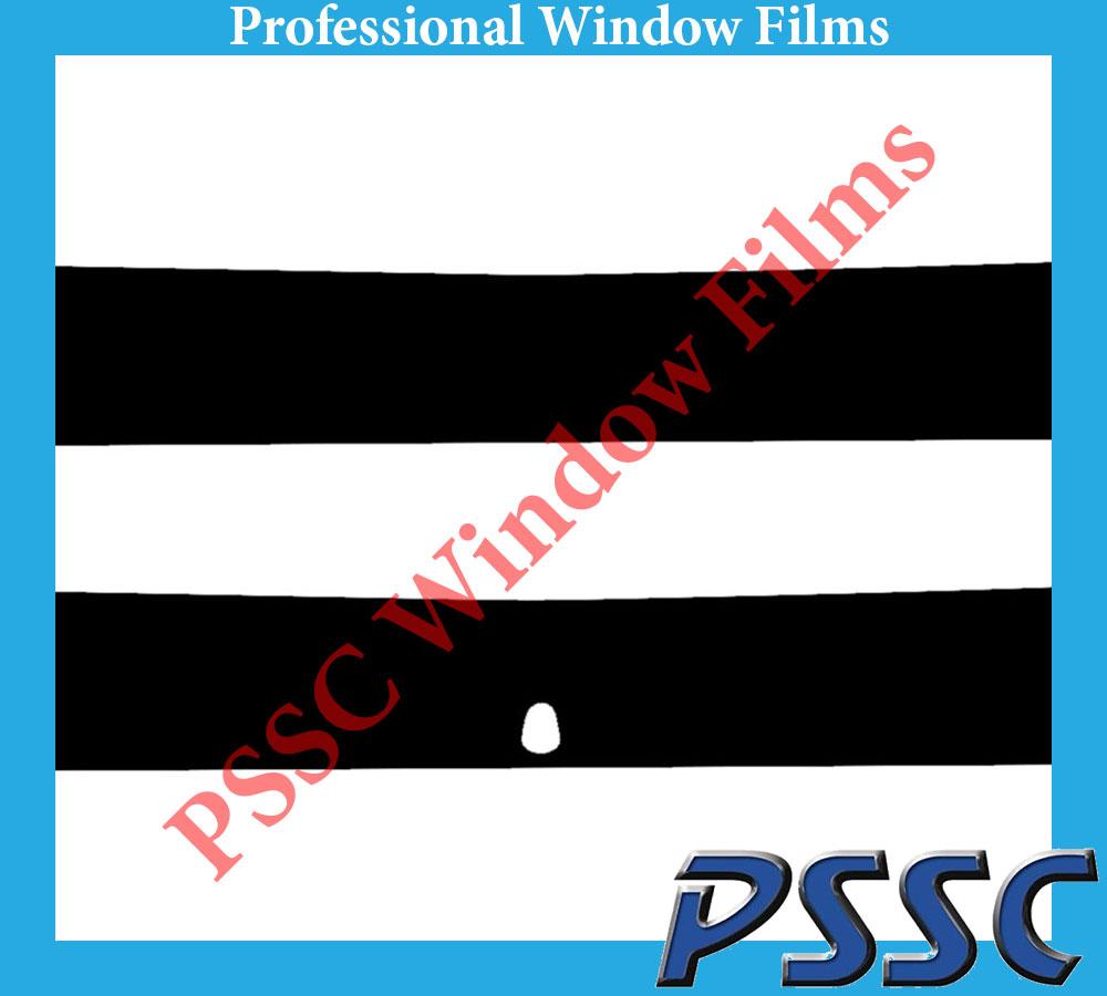 PSSC pré coupé sun strip voiture fenêtre films-citroen nemo 2008 à 2016