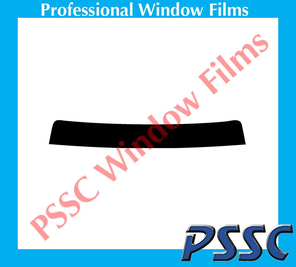 PSSC Pre Cut Sun Strip Car Window Films for Ford Ranger EXT Cab 2007 to 2016 20/% Dark Tint