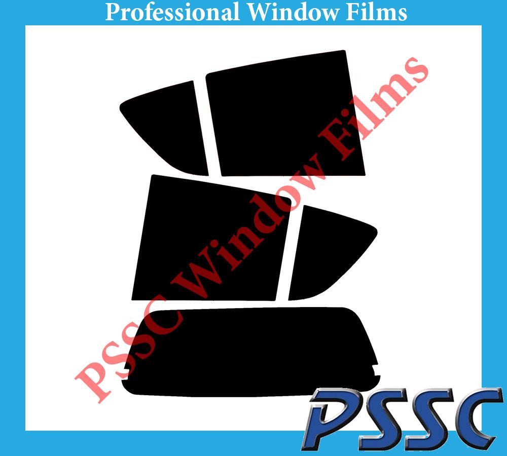 PSSC pré coupe arrière voiture fenêtre films-vauxhall agila 5 porte berline 2008 à 2016