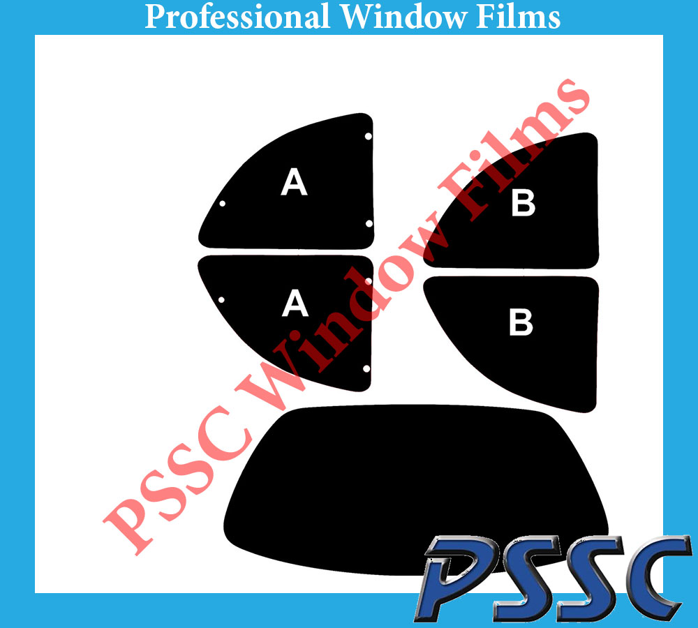 PSSC pré coupe arrière voiture fenêtre films-ford ka 1996 à 2008