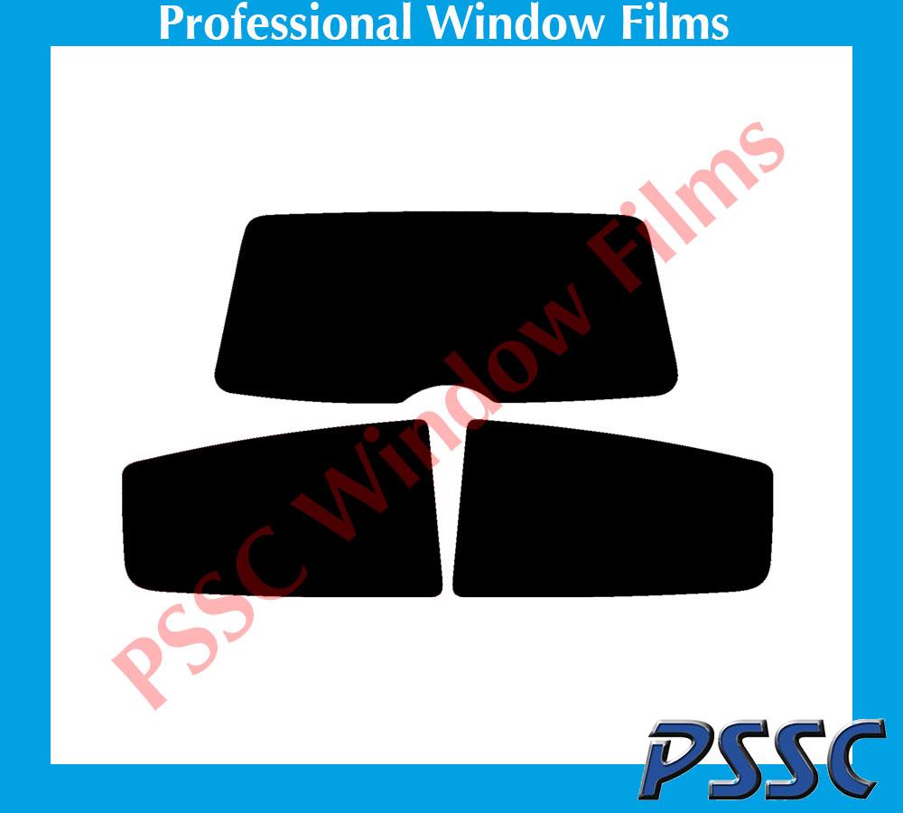 PSSC pré coupe arrière voiture fenêtre films-renault clio 3 portes hayon 1998 à 2005