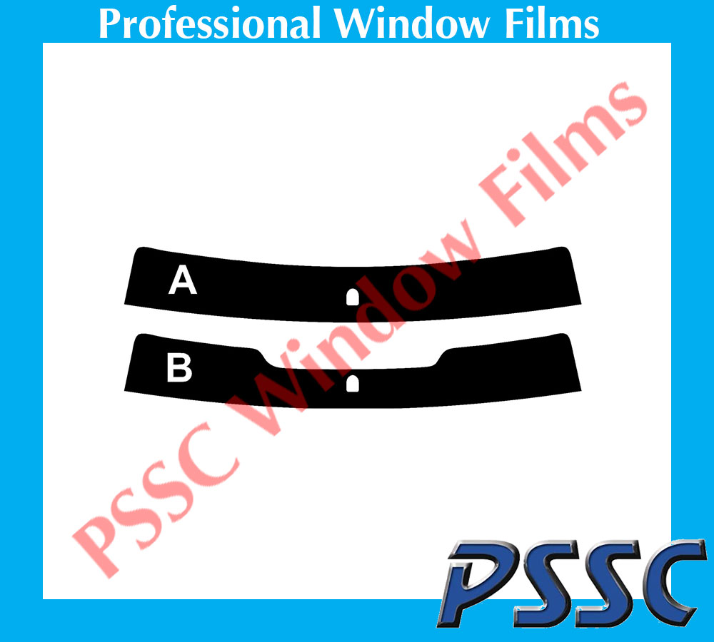 PSSC pré coupé sun strip voiture fenêtre films-ford mondeo hayon 2000 à 2007