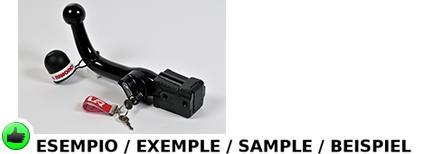 attelage d montable horizontal pour alfa romeo 159 break q4 break 06 01055 m e3 ebay. Black Bedroom Furniture Sets. Home Design Ideas