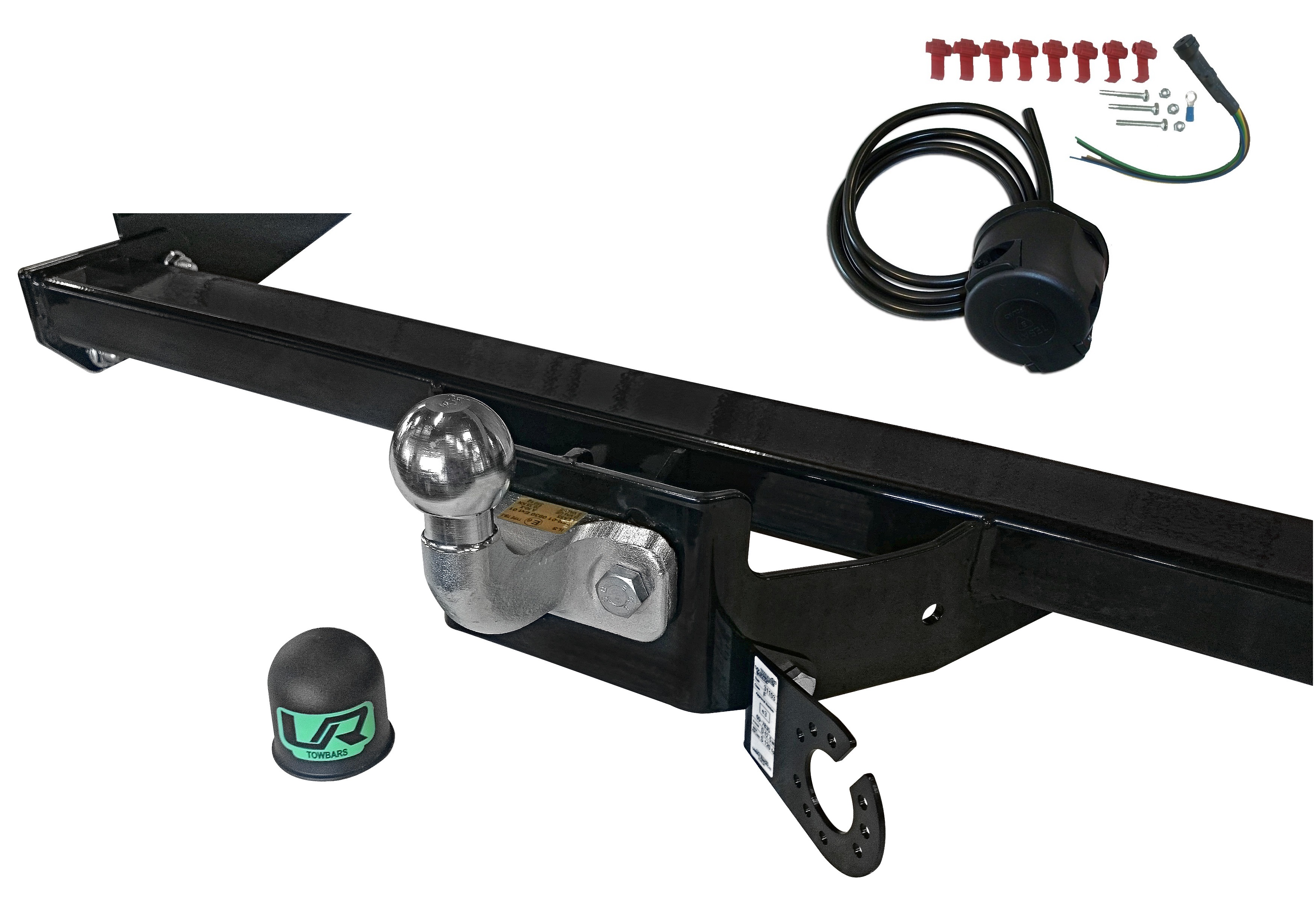renault master tow bar wiring diagram fixed flange towbar 7 pin kit wiring tow bar for ford ranger mazda b2500 | ebay