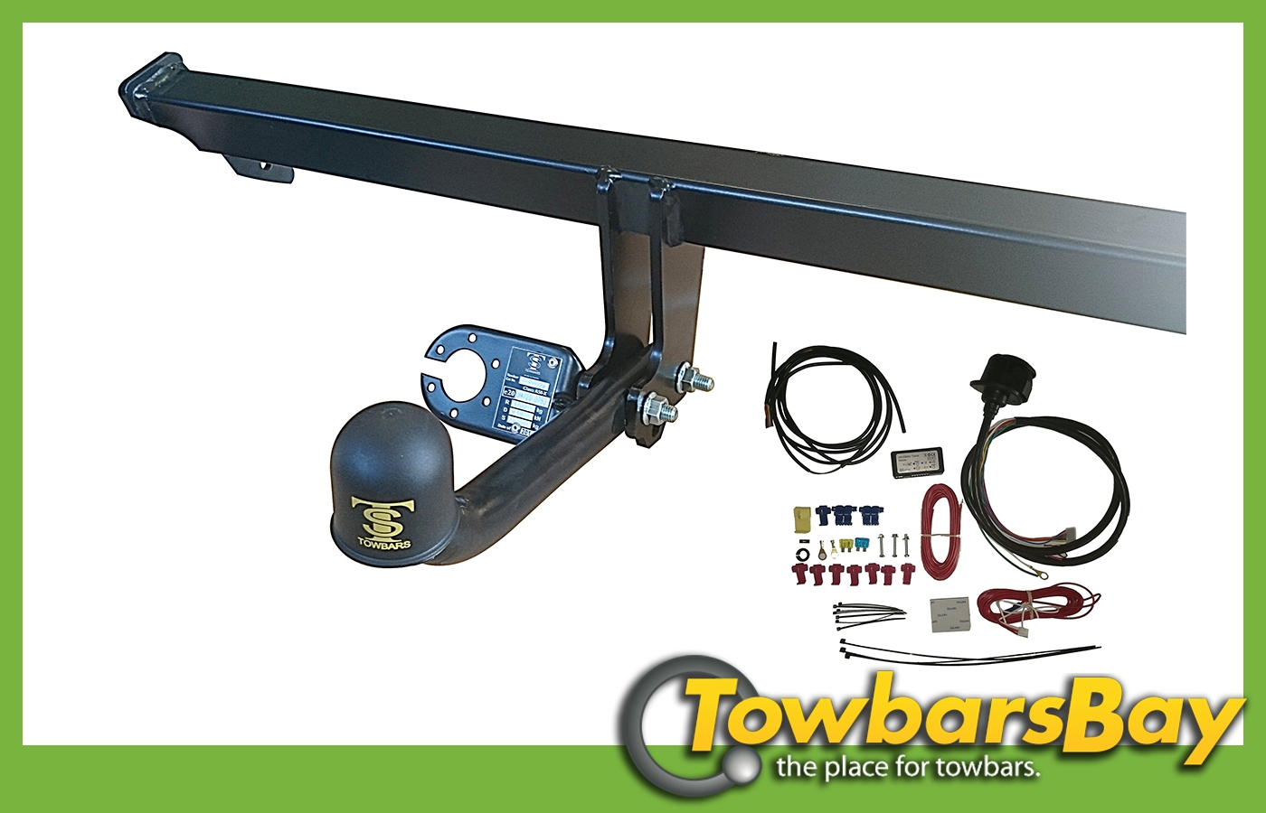 Fixed Swan Neck Towbar For Citroen Xsara Picasso 1999 On